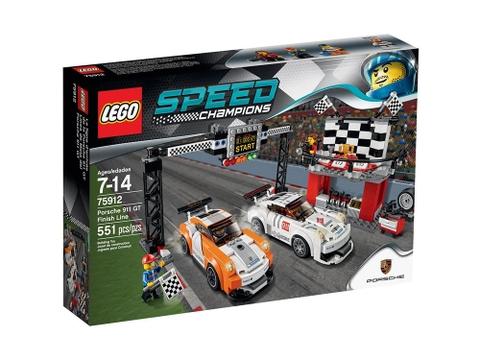 Hình ảnh vỏ hộp đựng sản phẩm Lego Speed Champions 75912 - Đích đến Porsche 911 GT