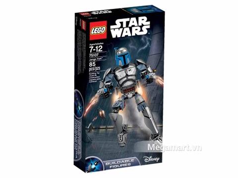 Vỏ hộp đồ chơi Lego Star Wars75107- Thợ săn Jango Fett