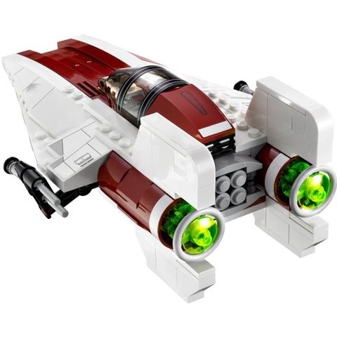 Bé được kích thích khả năng sáng tạo khi vui chơi cùng Lego Star Wars 75003 - Phi Thuyền Chiến Đấu A-Wing™