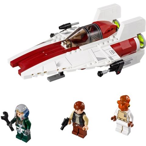 Các chi tiết chính xuất hiện trong Lego Star Wars 75003 - Phi Thuyền Chiến Đấu A-Wing™