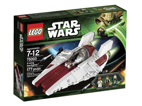 Vỏ hộp bộ đồ chơi Lego Star Wars 75003 - Phi Thuyền Chiến Đấu A-Wing™