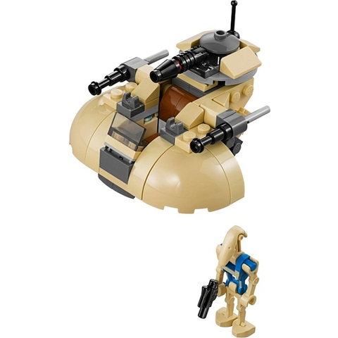 Các chi tiết chính trong Lego Star Wars 75029 - Cỗ Máy Chiến Đấu AAT
