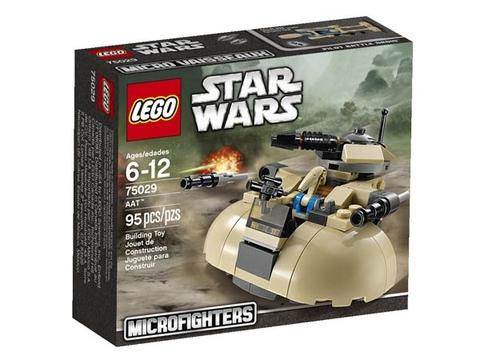 Hình ảnh vỏ hộp Lego Star Wars 75029 - Cỗ Máy Chiến Đấu AAT