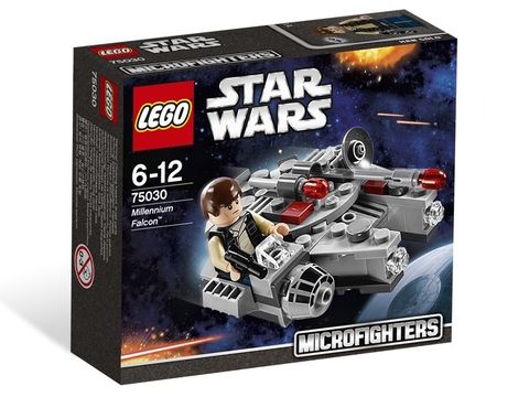 Vỏ hộp sản phẩm Lego Star Wars 75030 - Phi Thuyền Mellennium Falcon