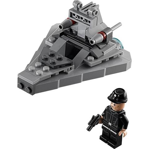 Trọn bộ chi tiết có trong bộ xếp hình Lego Star Wars 75033 - Tàu Khu Trục Ngôi Sao