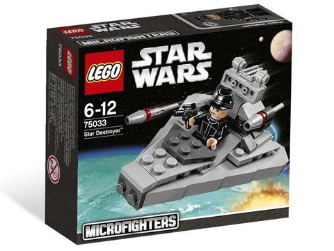 Hình ảnh vỏ hộp sản phẩm Lego Star Wars 75033 - Tàu Khu Trục Ngôi Sao