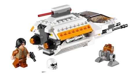 Trọn bộ chi tiết có trong bộ xếp hình Lego Star Wars 75048 - Bóng Ma