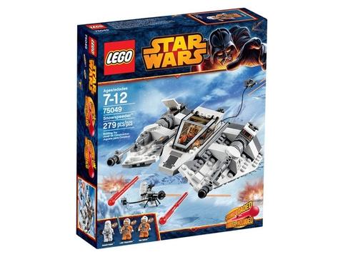 Vỏ hộp sản phẩm Lego Star Wars 75049 - Tàu Trượt Tuyết