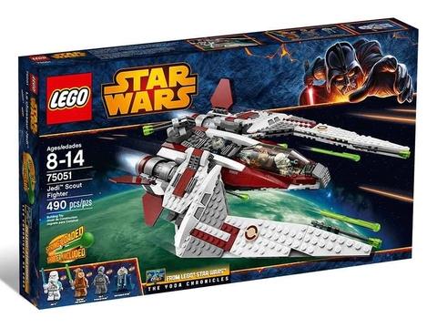 Hình ảnh vỏ ngoài bộ xếp hình Lego Star Wars 75051 - Tàu Do Thám Jedi