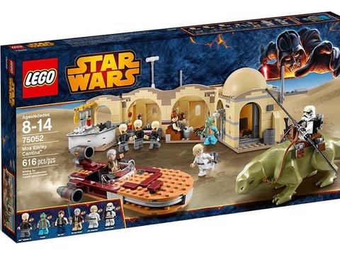 Vỏ hộp bộ đồ chơi Lego Star Wars 75052 - Quán Bar Mos Eisley