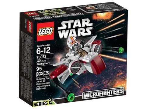 Hộp đựng Lego Star Wars 75072 - Phi Thuyền Chiến Đấu ARC-170