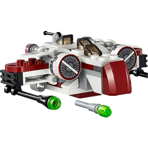 Bộ xếp hình Lego Star Wars 75072 - Phi Thuyền Chiến Đấu ARC-170 với nội dung hấp dẫn