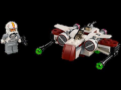 Trọn bộ chi tiết có trong bộ xếp hình Lego Star Wars 75072 - Phi Thuyền Chiến Đấu ARC-170