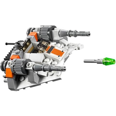 Bộ xếp hình Lego Star Wars 75074 - Tàu Trượt Tuyết với các mô hình tinh tế và sắc nét