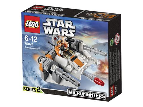 Vỏ hộp sản phẩm Lego Star Wars 75074 - Tàu Trượt Tuyết