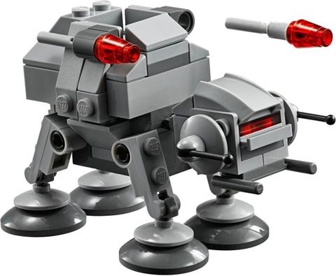 88 chi tiết trong Lego Star Wars 75075 - AT-AT cho bé tha hồ vui chơi và sáng tạo