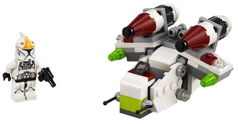 Các chi tiết có trong bộ xếp hình Lego Star Wars 75076 - Republic Gunship