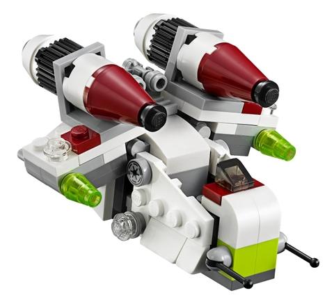 Đồ chơi Lego Star Wars 75076 - Republic Gunship tuyệt đối an toàn cho trẻ nhỏ