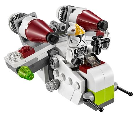 Bộ ghép hình Lego Star Wars 75076 - Republic Gunship giúp rèn luyện kỹ năng cho bé