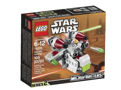 Hình ảnh hộp đựng sản phẩm Lego Star Wars 75076 - Republic Gunship
