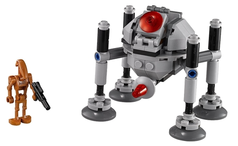 Mô hình Lego Star Wars 75077 - Homing Spider Droid