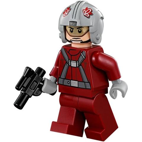 Trẻ được kích thích tư duy sáng tạo khi chơi cùng mô hình Lego Star Wars 75081 - Phi Thuyền T-16