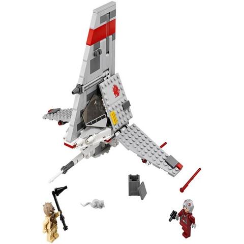 Các chi tiết có trong bộ xếp hình Lego Star Wars 75081 - Phi Thuyền T-16
