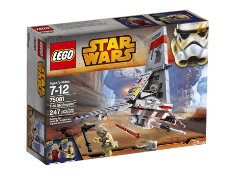 Hình ảnh vỏ hộp đựng Lego Star Wars 75081 - Phi Thuyền T-16