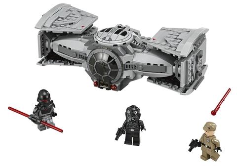 Trọn bộ chi tiết sẽ có trong mô hình Lego Star Wars 75082 - Phi Thuyền Cao Cấp TIE