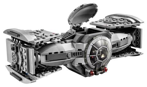 Bộ xếp hình Lego Star Wars 75082 - Phi Thuyền Cao Cấp TIE với bối cảnh săn đuổi vô cùng hấp dẫn