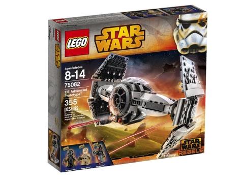 Hình ảnh vỏ hộp bộ Lego Star Wars 75082 - Phi Thuyền Cao Cấp TIE