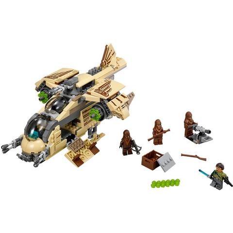 Trọn bộ các chi tiết có trong bộ xếp hình Lego Star Wars 75084 - Phi Thuyền Tấn Công Wookie