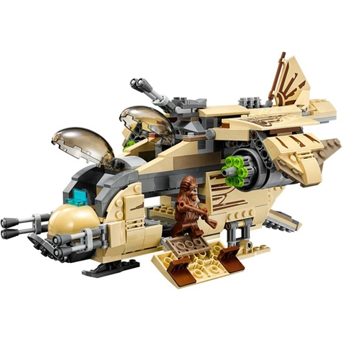 Mô hình phi thuyền trong bộ đồ chơi Lego Star Wars 75084 - Phi Thuyền Tấn Công Wookie