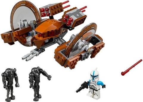 Trọn bộ chi tiết sẽ xuất hiện trong bộ xếp hình Lego Star Wars 75085 - Hailfire Droid