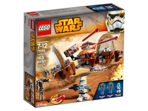 Hình ảnh vỏ hộp đựng sản phẩm Lego Star Wars 75085 - Hailfire Droid