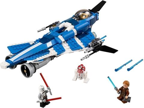 Các chi tiết chính trong bộ xếp hình Lego Star Wars 75087 - Anakin's Custom Jedi Starfighter