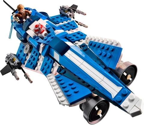 Bộ xếp hình Lego Star Wars 75087 - Anakin's Custom Jedi Starfighter mang đến cho bé nhiều trải nghiệm thú vị