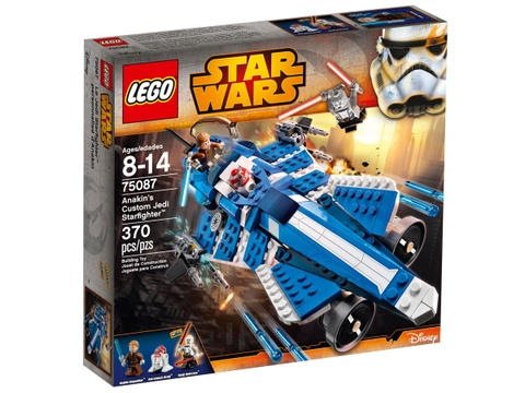 Vỏ hộp bộ đồ chơi Lego Star Wars 75087 - Anakin's Custom Jedi Starfighter
