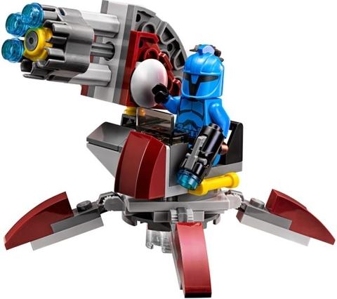Mô hình Lego Star Wars 75088 - Senate Commando Troopers đẹp mắt