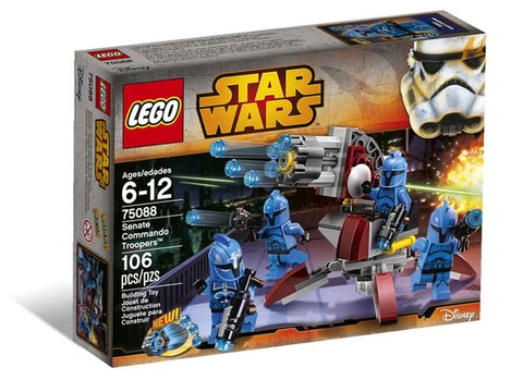 Vỏ hộp Lego Star Wars 75088 - Senate Commando Troopers
