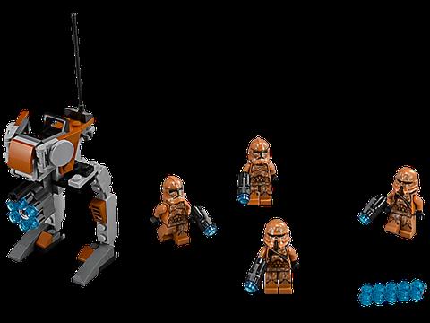 Bộ xếp hình Lego Star Wars 75089 - Geonosis Troopers với 105 chi tiết cho bé sáng tạo