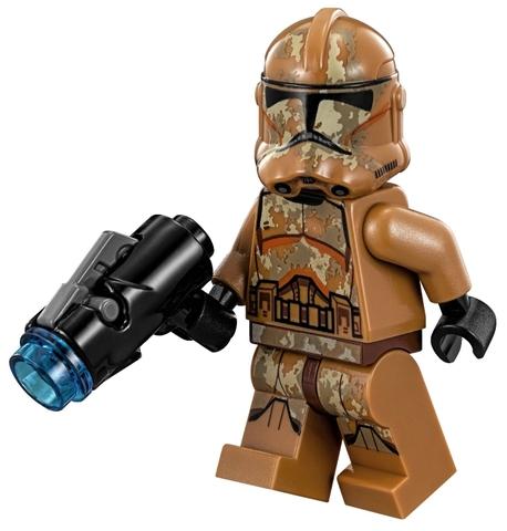 Cả nhà cùng chơi với bộ Lego Star Wars 75089 - Geonosis Troopers