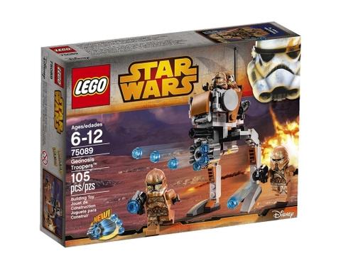 Hình ảnh vỏ hộp đựng bộ đồ chơi Lego Star Wars 75089 - Geonosis Troopers