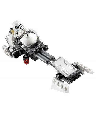 Lego Star Wars 75090 - Tàu Đua Của Ezra - tàu đua phe địch