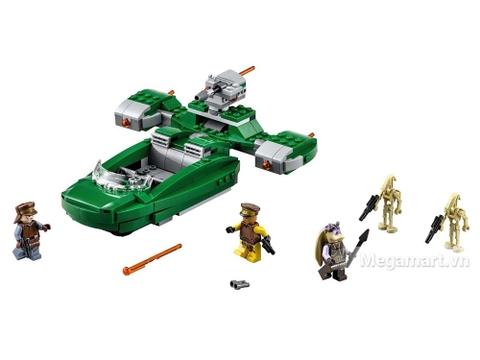 Lego Star Wars 75091 - Tay đua tia chớp - toàn cảnh bộ đồ chơi