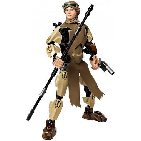 Mô hình nhân vật Rey sau khi hoàn thành