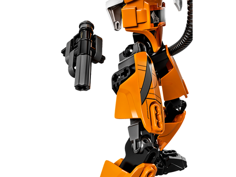 Đồ chơi Lego Star Wars 75115 - Phi công Poe Dameron với các chi tiết được làm bằng nhựa cao cấp tuyệt đối an toàn