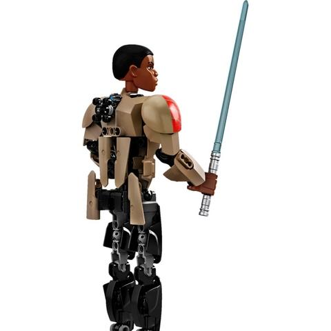 Các chi tiết trong Lego Star Wars 75116 - Nhân Vật Finn đều được làm từ 100% nhựa nguyên sinh ABS