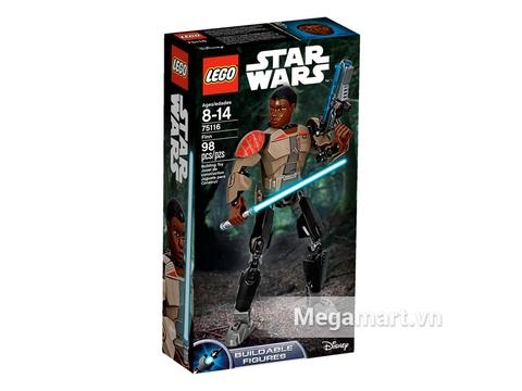 Hộp đựng Lego Star Wars 75116 - Nhân Vật Finn