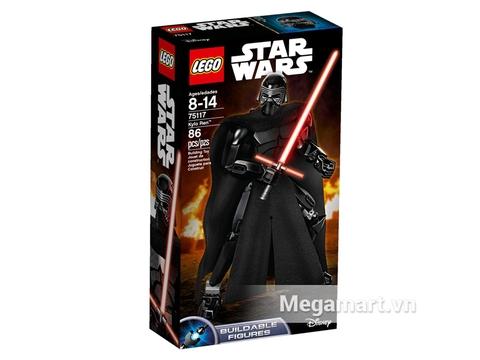 Vỏ hộp đồ chơi Lego Star Wars 75117 - Tướng Quân Kylo Ren